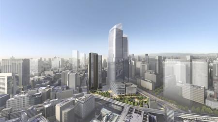 東京・常盤橋地区の再開発イメージ(三菱地所提供)