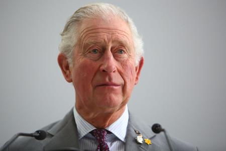 チャールズ英皇太子=ウェールズ南部、2月21日(AFP時事)