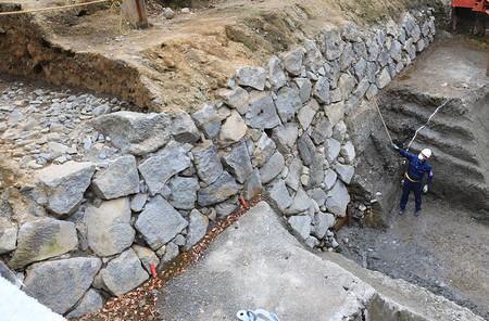 最古の江戸城石垣か